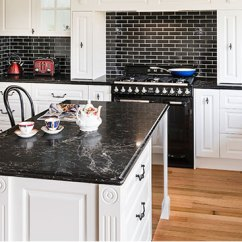 Kitchen Benches Lowes Remodel Reviews Benchtops Melbourne Rosemount Kitchens Image Of A Reconstituted Stone 40mm Benchtop Lambstongue Profile