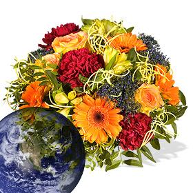Blumenversand Weltweit  International Blumen versenden