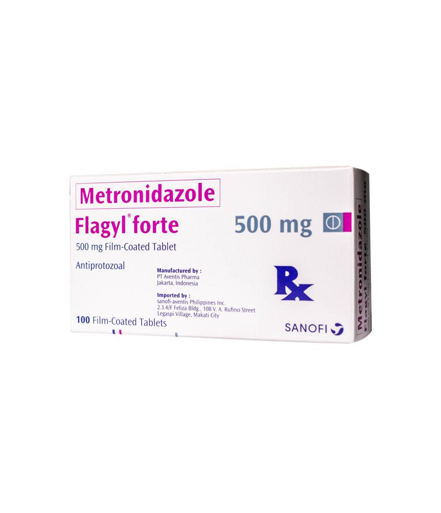Flagyl Forte 500Mg Tablet | Rose Pharmacy