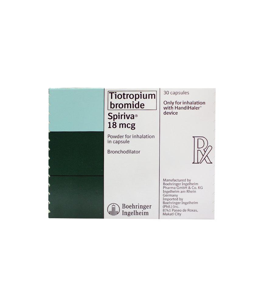 SPIRIVA 18MCG CAPSULE – Rose Pharmacy