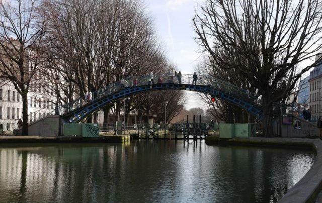 Vue du Canal St Martin
