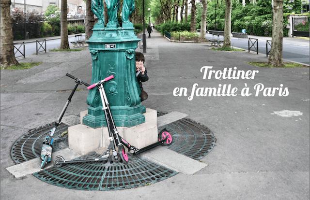 Trottinette en famille : 5 endroits sympas pour trottiner dans Paris.