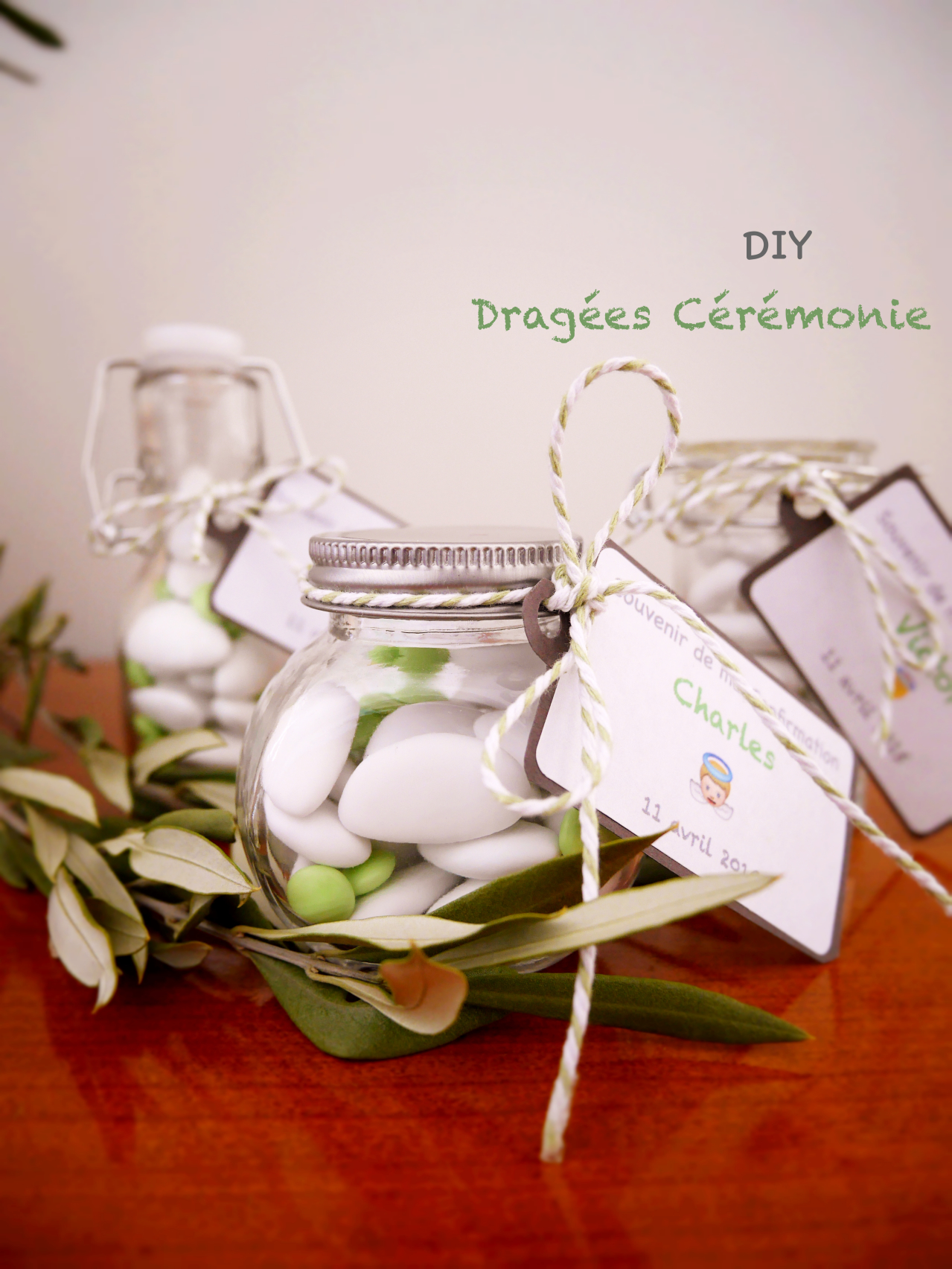DIY Dragées Originales