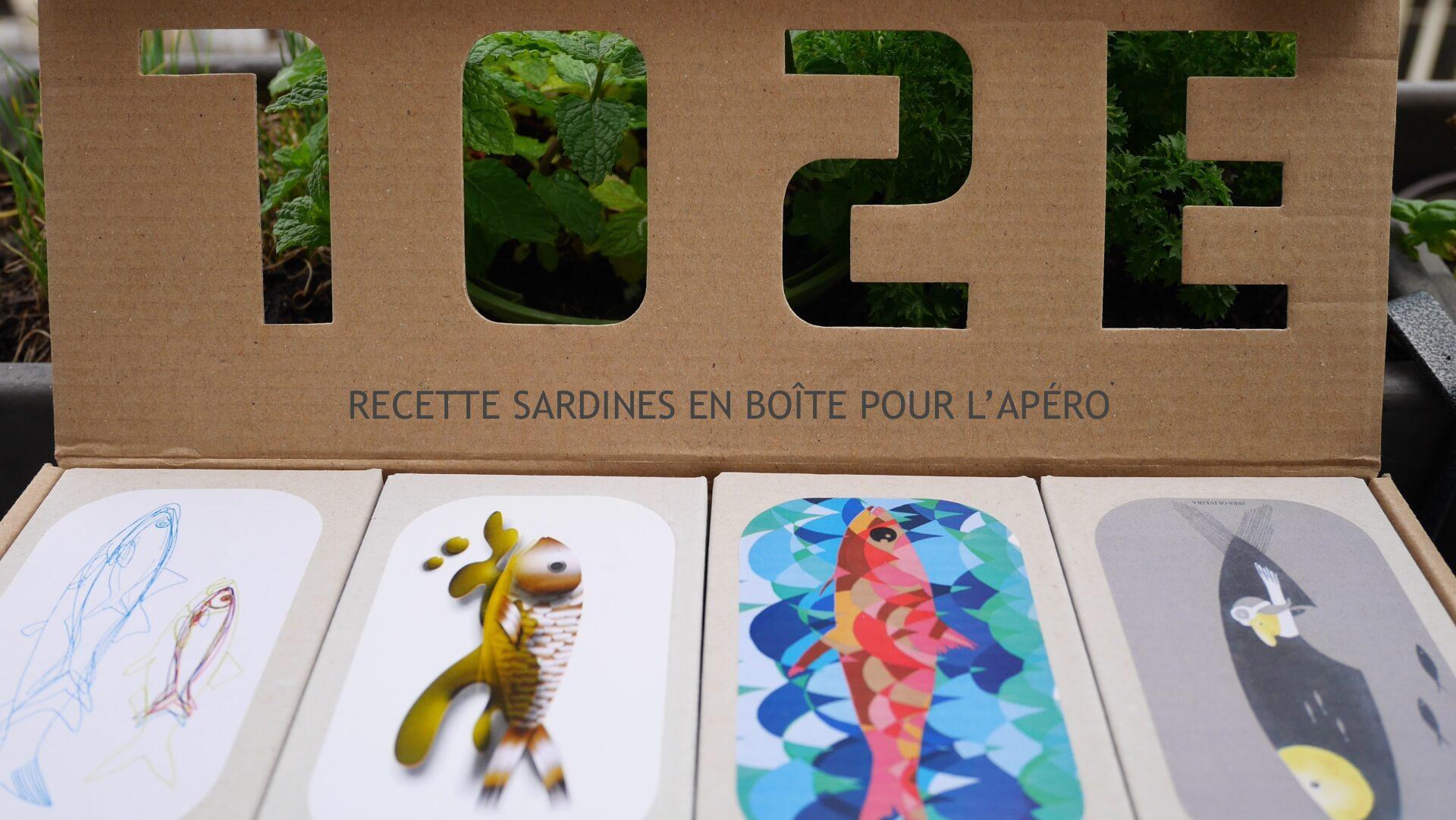 Recette Sardines en boîte pour l'Apéro !