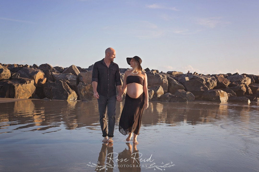 sunrise beach maternity session orlando