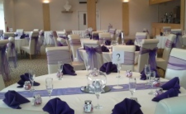 Table Linen Napkins To Hire Royal Blue White Ivory