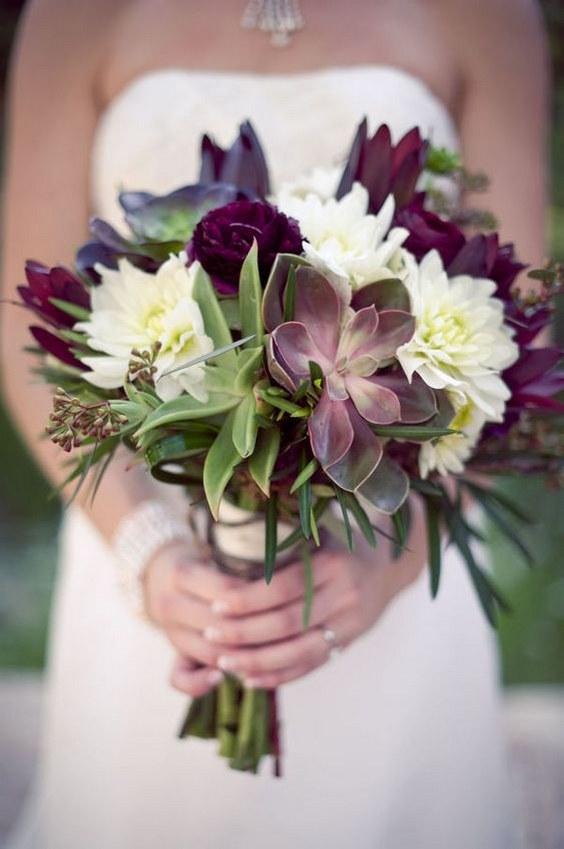 Plum Flowers For Wedding