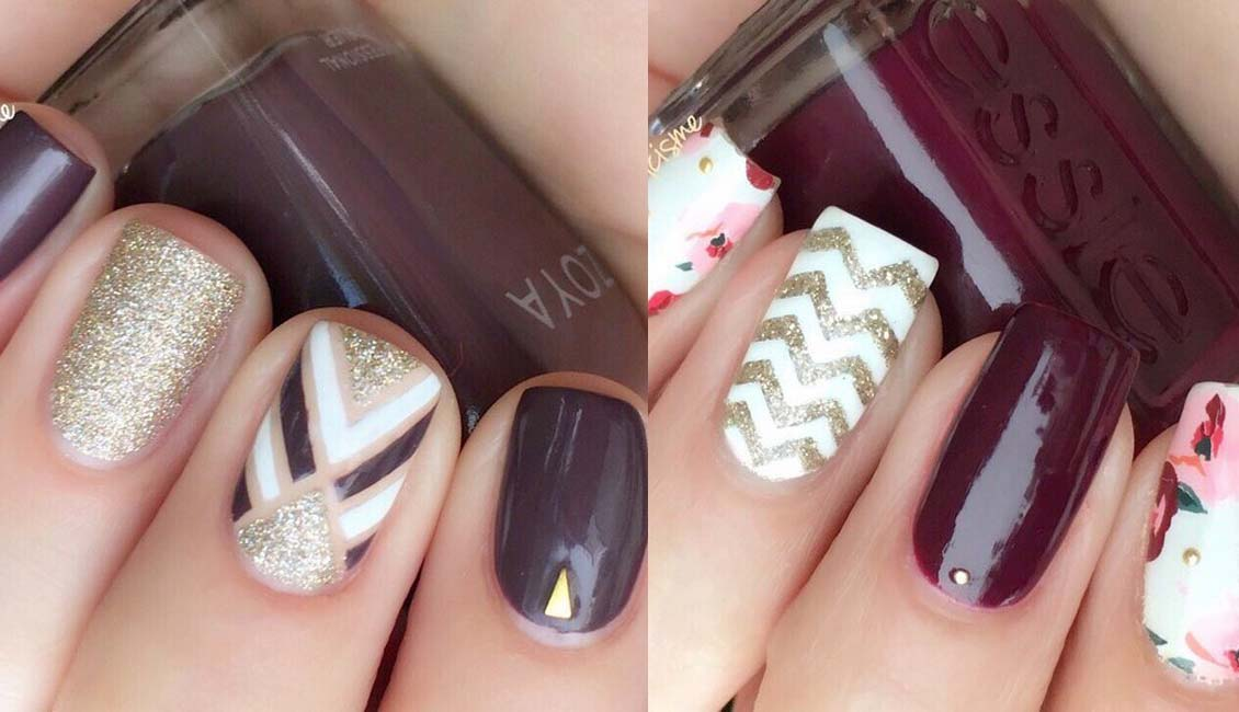 24 Trendy Fall Nail Design Ideas