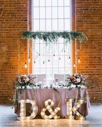 20 Rustic Country Wedding Head Sweetheart Table Ideas ...