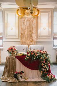 20 Fall Wedding Reception  Sweetheart Table Ideas | Roses ...