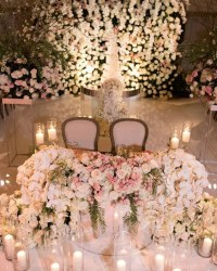 Top 20 Luxury Sweetheart Table Decor Ideas | Roses & Rings