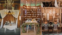 Top 20 Sweetheart Table Decor Ideas for Barn Weddings ...