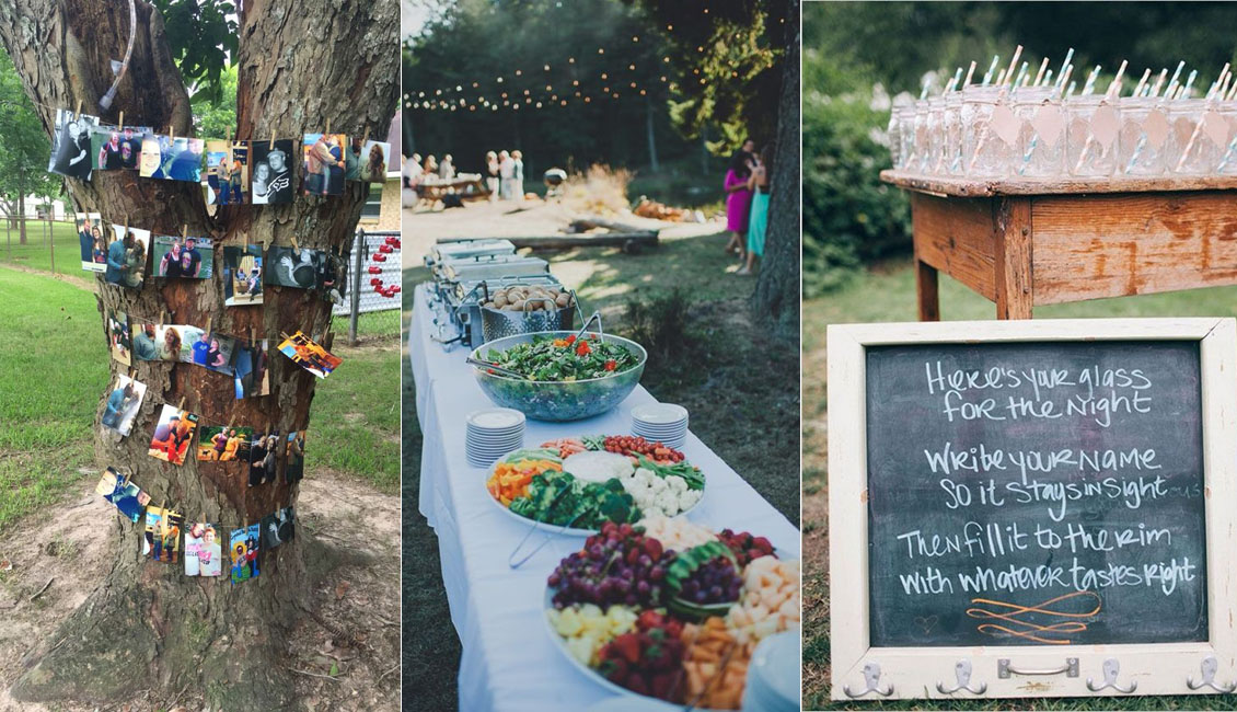 20 Rustic I do BBQ Barbecue Wedding Ideas  Roses  Rings
