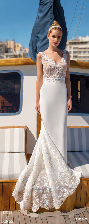 Demetrios Destination Beach Wedding Dresses 2019  Roses