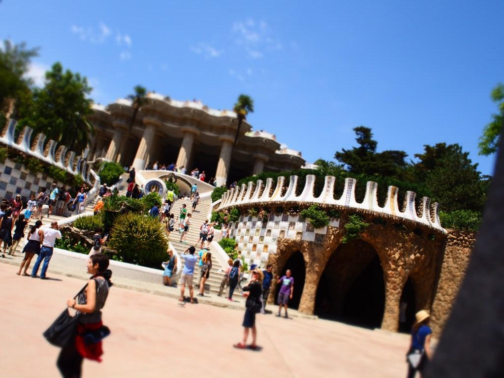 Barcelone_Espagne_Güell_park