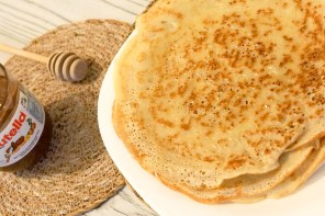 Pancakes with yogurt: Bulgarian recipe