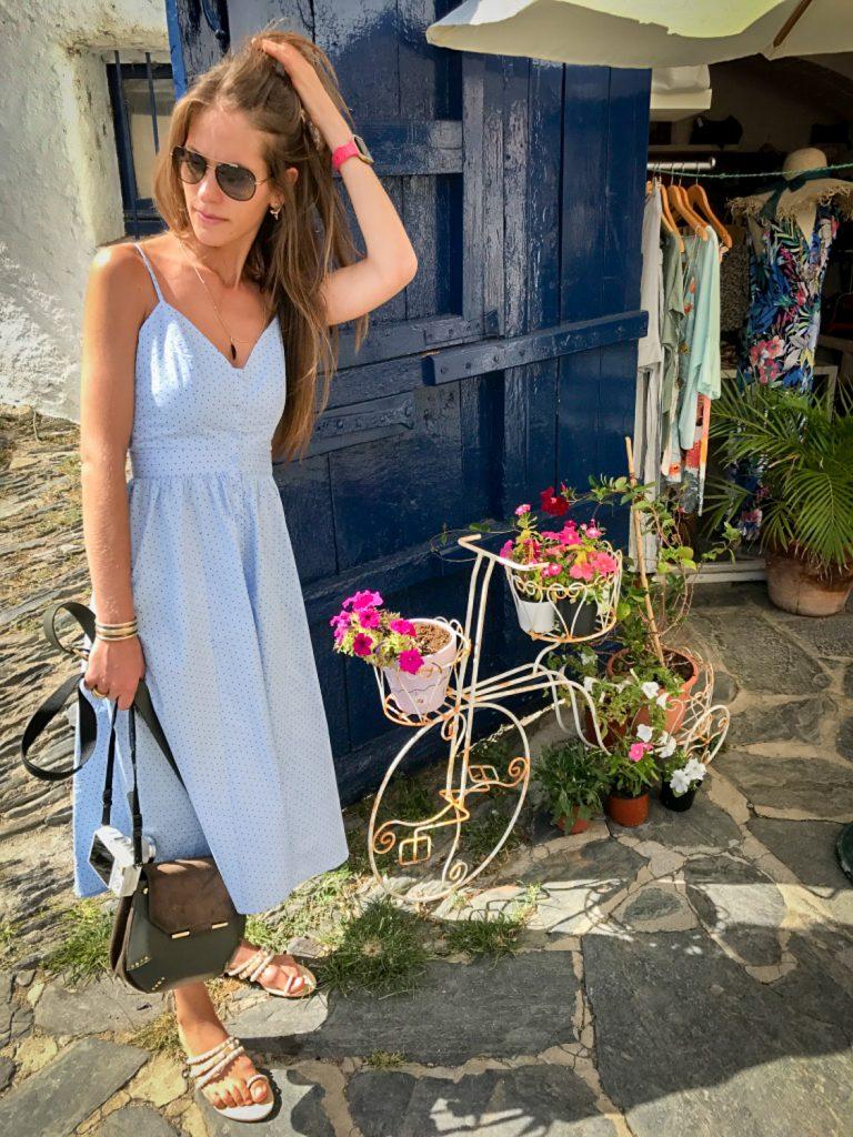 Espagne_ete_robe_bleue
