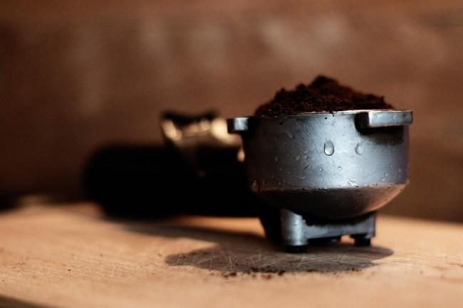 Powdered coffee
