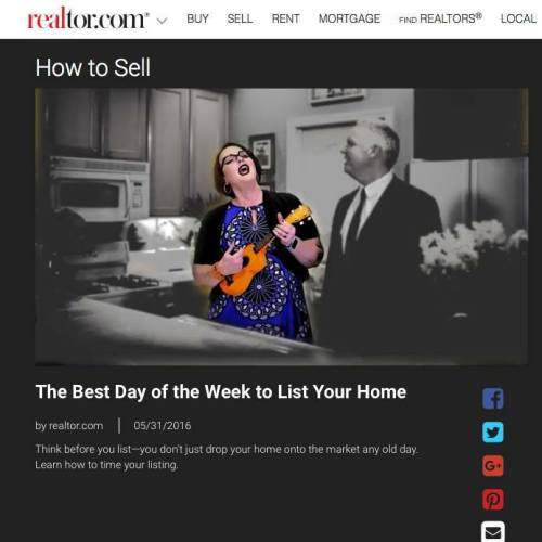 best day of the week to list your home