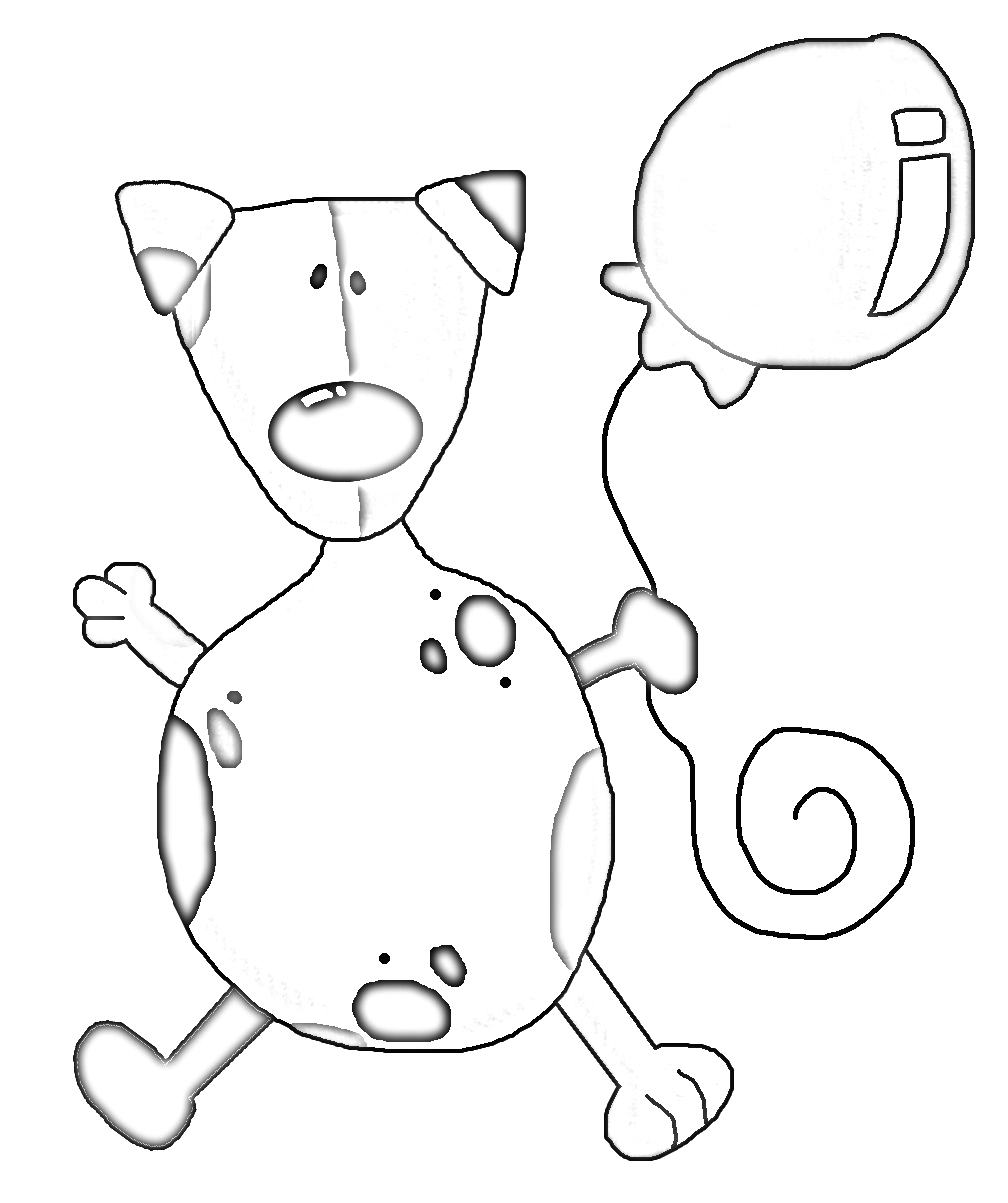 Fun doggy coloring pages from Kaye Swain Sandwichwich