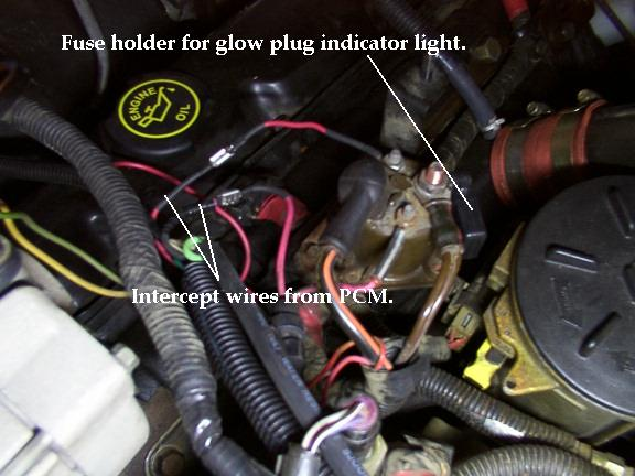 glow plug wiring diagram 7 3 2009 pontiac g6 headlight 2001 f250 harness great installation of images gallery
