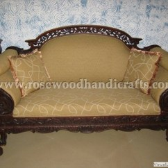Sofa Rose Wood Luxury Leather Sofas Backless Couch-wooden Sala Set-wood Couch-love Seat