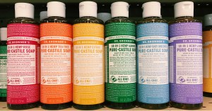 Dr. Bronner's: cleaning products that have clean ingredients