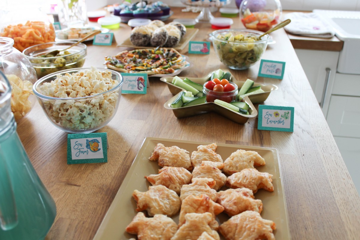 How To Make The Best Little Mermaid Themed Kids Party Food