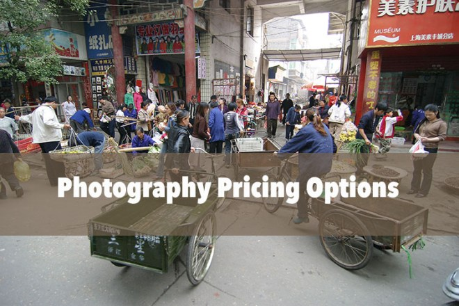 Photography Pricing Options