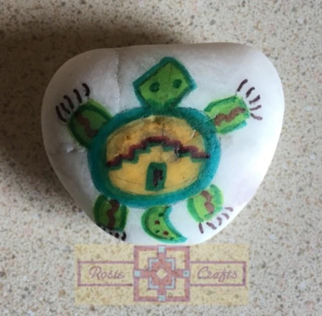 Artisan Tribes Spirit Turtle Rock Art