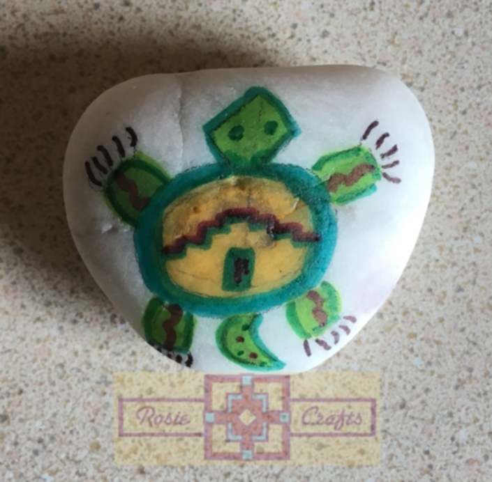 Artisan Tribes Spirit Turtle Rock Art