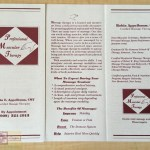 Rosie Crafts Muscular Therapy Brochure