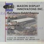 Rosie Crafts Mason Display Graphic Concept