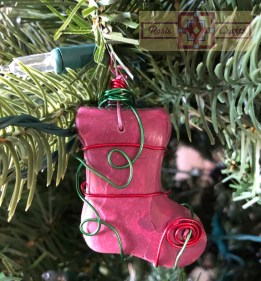 Rosie Crafts Christmas Stocking Ornament