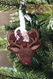 Rosie Crafts Christmas Reindeer Ornament