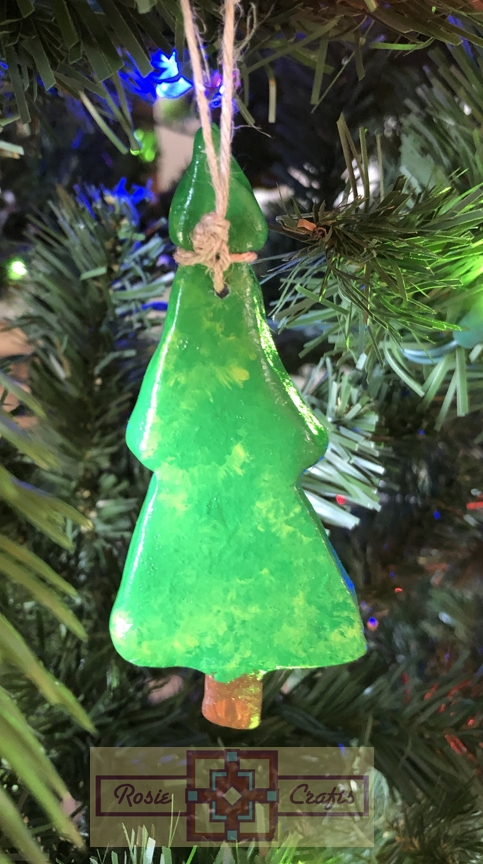 Rosie Crafts Christmas Tree Ornament