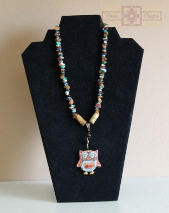 Artisan Tribes Spirit Owl Artisan Necklace