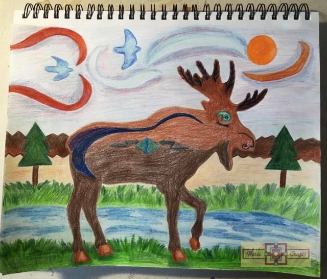 Artisan Tribes Spirit Moose