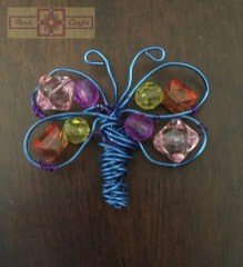 Rosie Crafts Beaded Wire Butterfly
