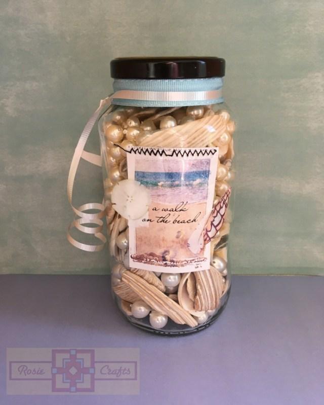 Rosie Crafts Beach Jar