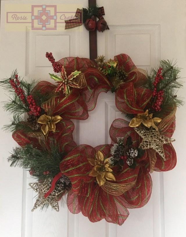 Rosie Crafts Christmas Wreath