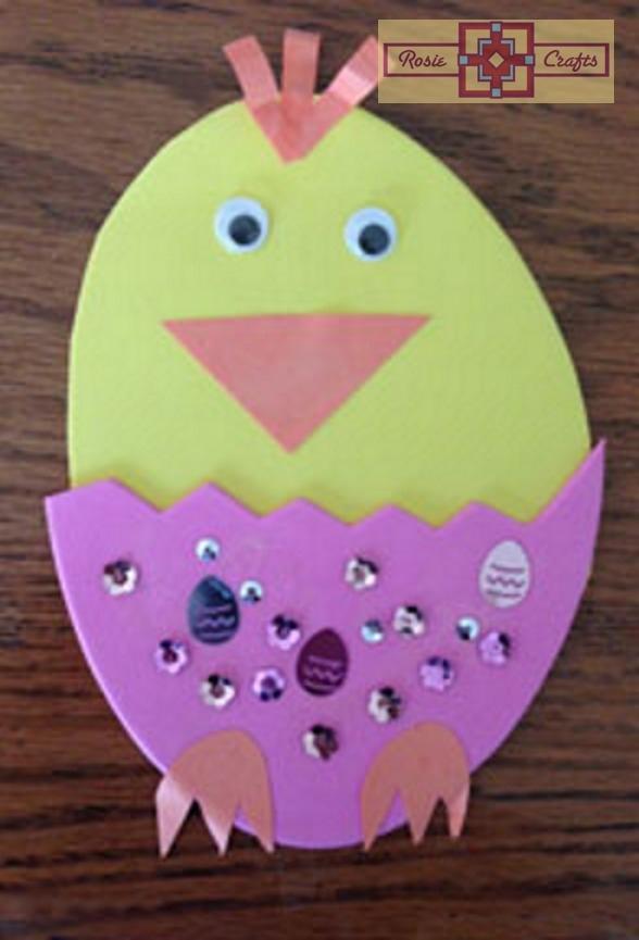 Rosie Crafts Kids Easter Chick Craft