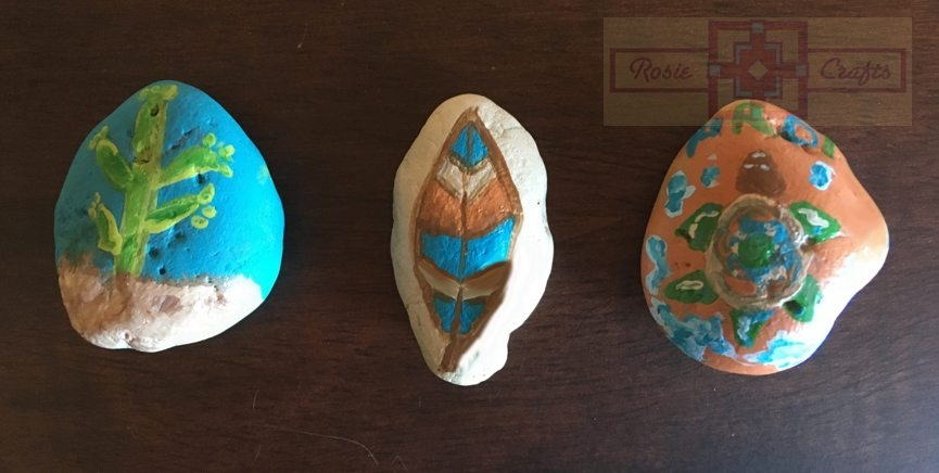 Artisan Tribes Southwest Painted Rock Art