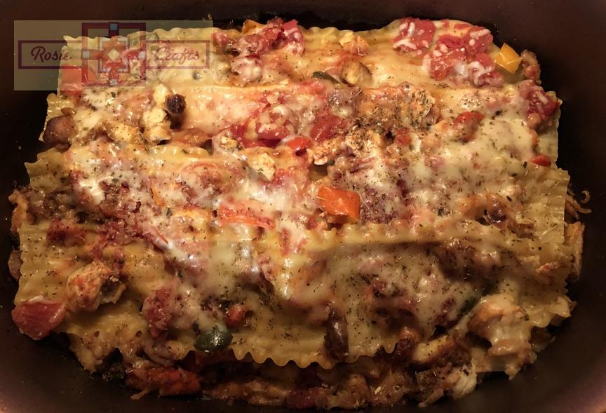 Rosie Crafts Chicken Lasagna