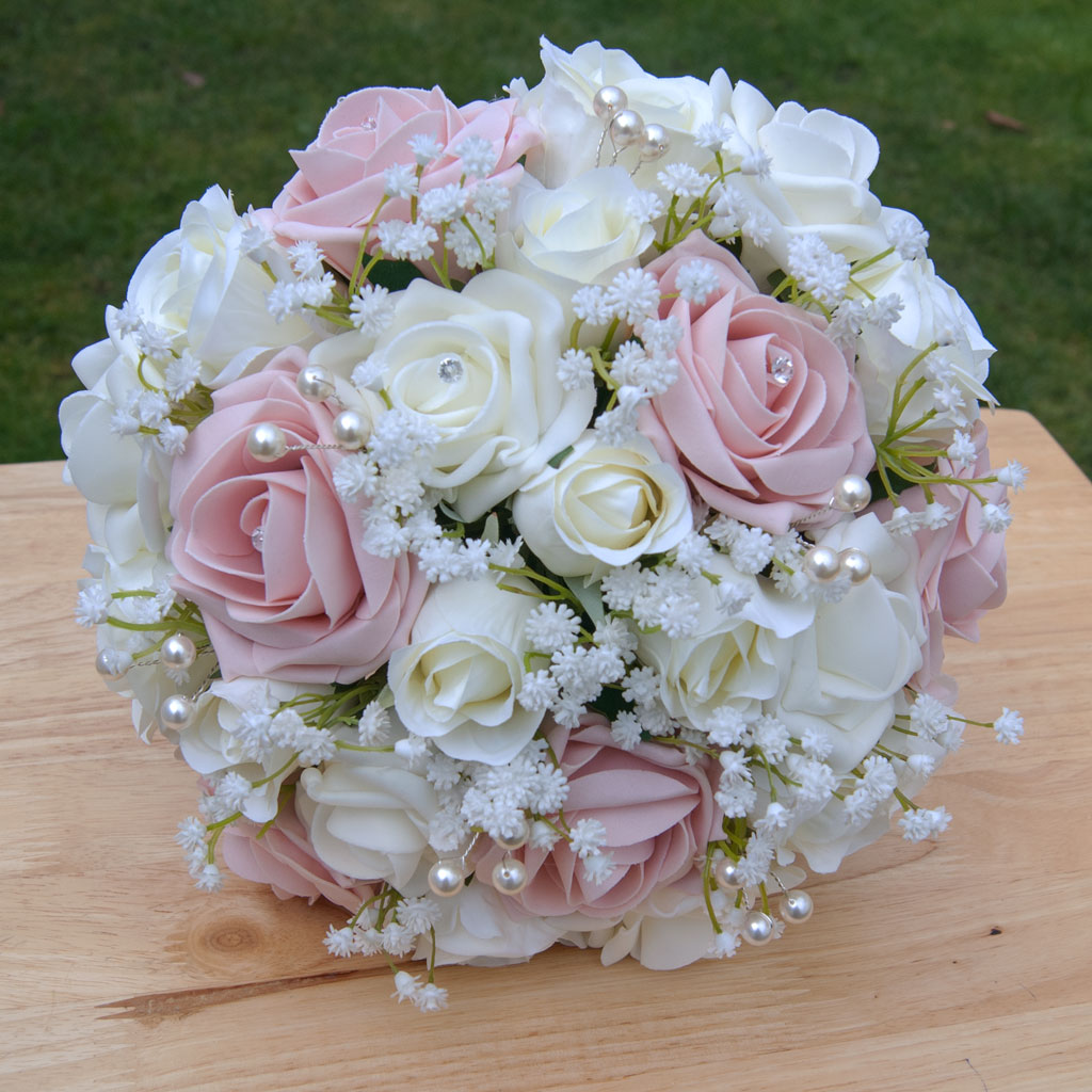 blush rose gypsophila collection