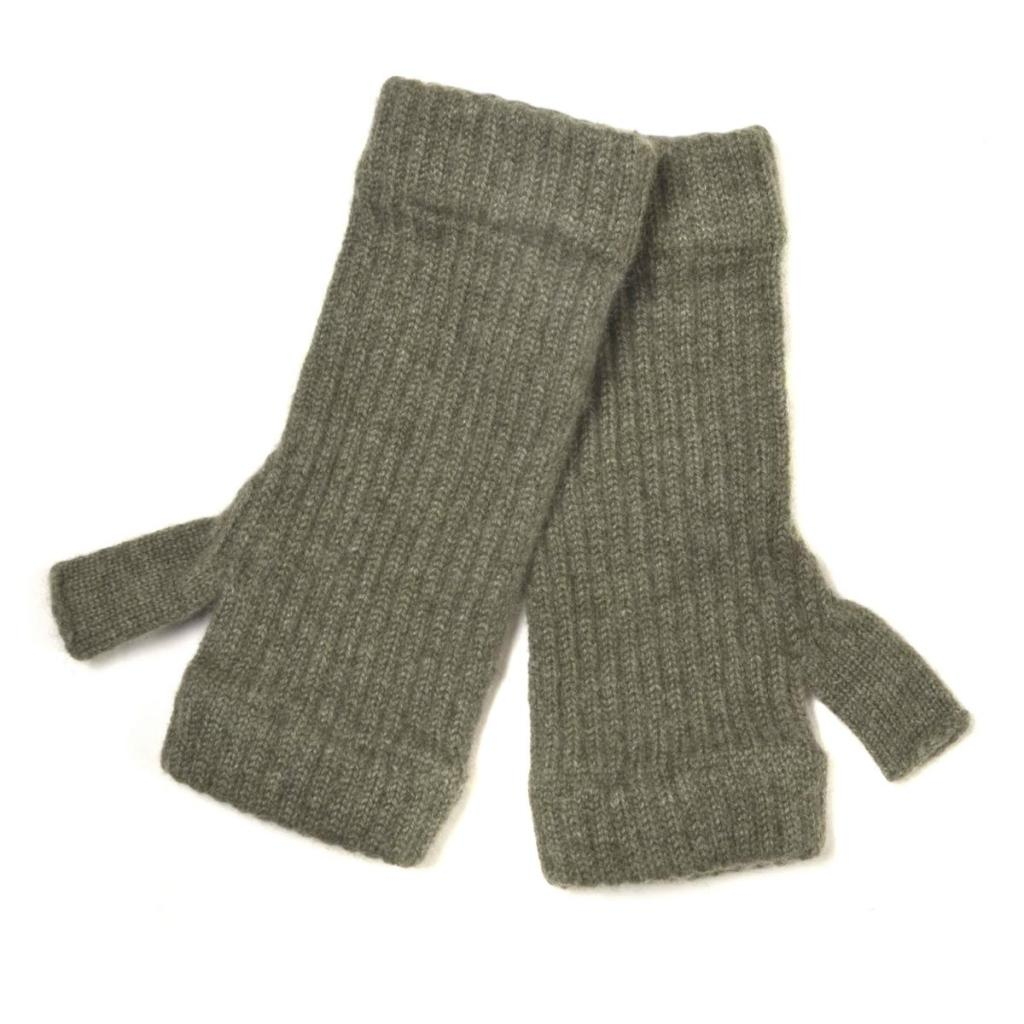 THYME RIBBED WRISTWARMERS