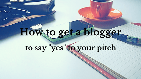 Pitching tactics: how to pitch a blogger