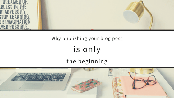 How to stick out amongst the competition when publishing a blog post