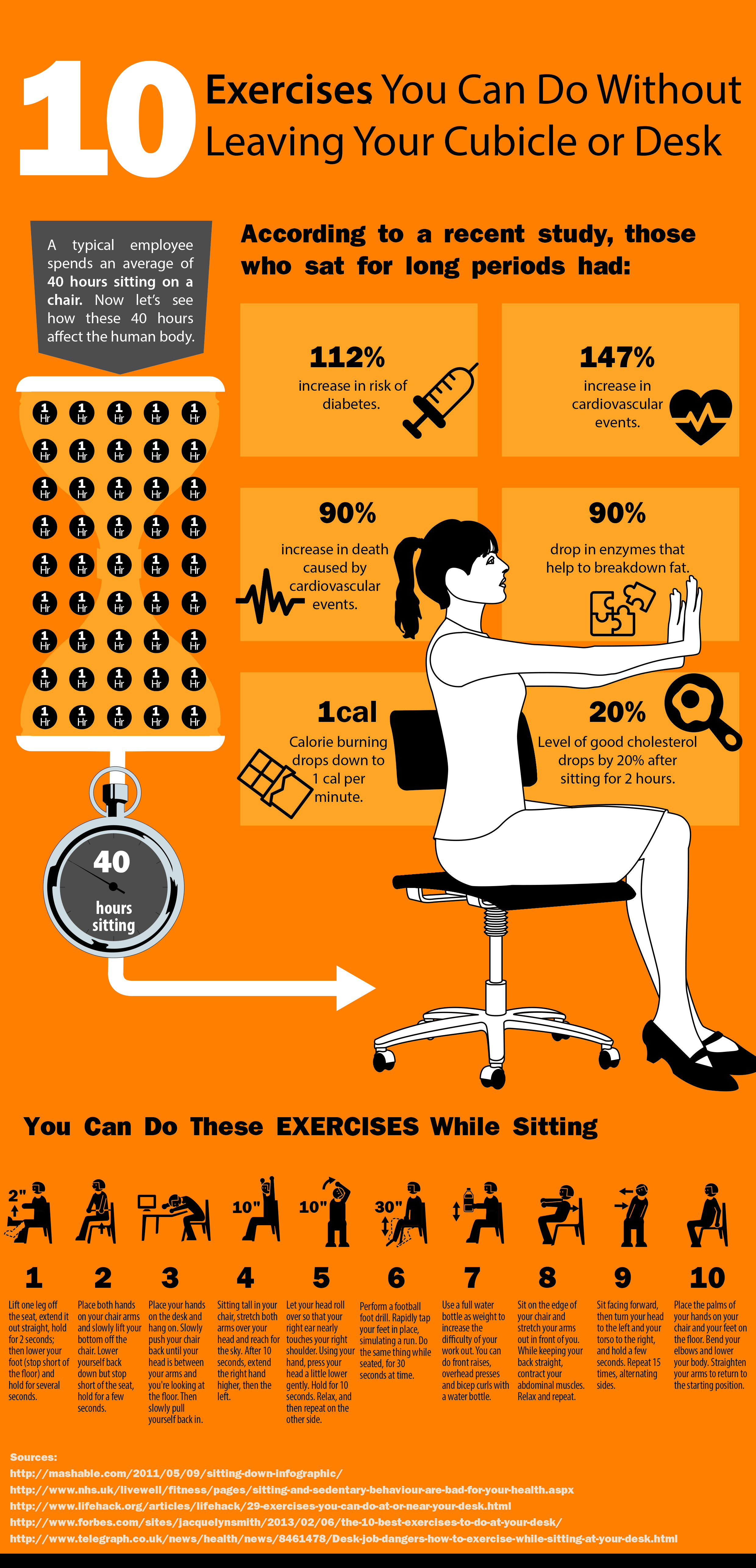 office chair without arms charles eames 10 exercises you can do at your cubicle or desk - yeg fitness