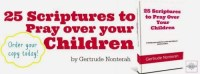 25 Verses to Pray Over Your Children Book Review